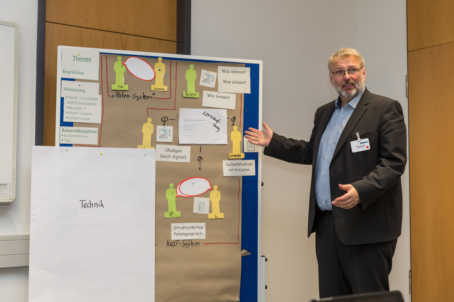 Olaf Aschmann im Workshop KeaP digital am 24. Oktober 2019 in Schwerin