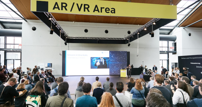 Impression der LEARNTEC Messe in 2019 (AR und VR Area)