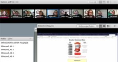 Screenshot vom Online-Seminar am 23.07.2020